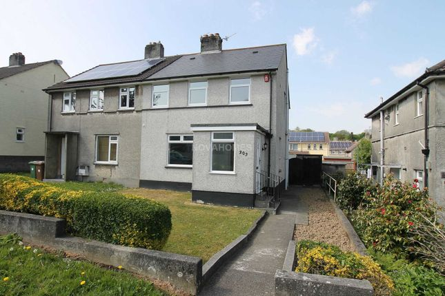Thumbnail Semi-detached house for sale in Pike Road, Efford