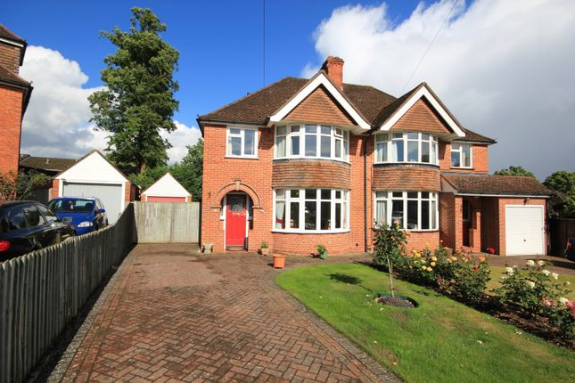 Thumbnail Semi-detached house for sale in Littlecote Drive, Reading