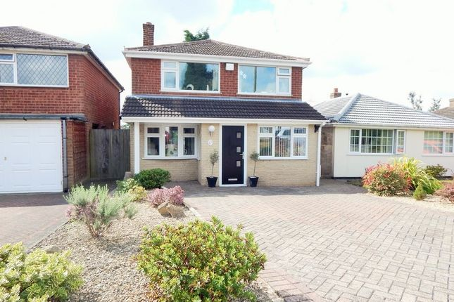 Thumbnail Detached house for sale in Thorpe Avenue, Burntwood
