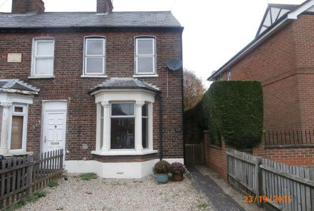 Thumbnail Terraced house to rent in Amersham Road, High Wycombe