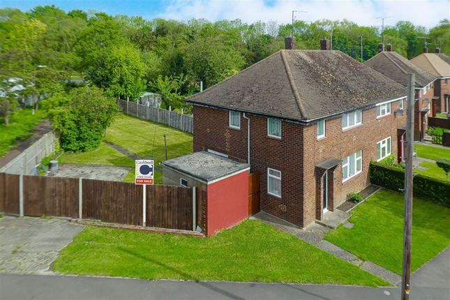 Thumbnail Semi-detached house for sale in The Crescent, Bletchley, Milton Keynes, Bucks