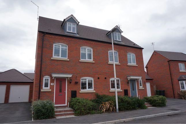 Thumbnail Semi-detached house for sale in John Scott Way, Warwick