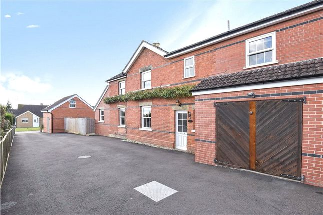 Thumbnail End terrace house to rent in Five Acres, Stoford, Yeovil, Somerset