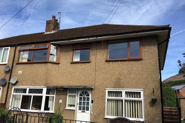 Thumbnail Flat to rent in Waunfawr Gardens, Cross Keys, Newport.