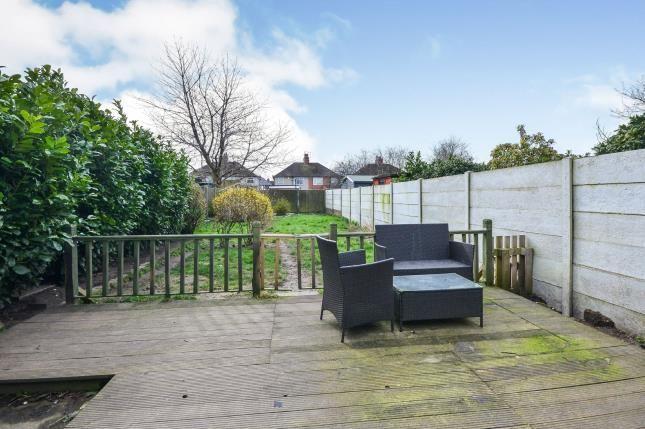 Garden of Cornwall Avenue, Mansfield, Nottingham, Notts NG18