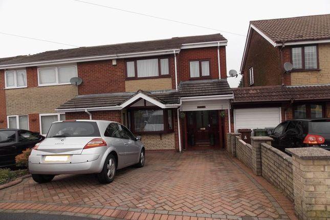 Thumbnail Semi-detached house to rent in Larkhill, Stalybridge