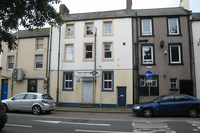 Thumbnail Maisonette for sale in Strand Street, Whitehaven