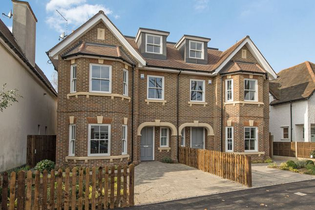 Thumbnail Semi-detached house for sale in Kings Drive, Thames Ditton