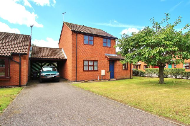 Thumbnail Semi-detached house for sale in Primrose Way, Queniborough, Leicestershire