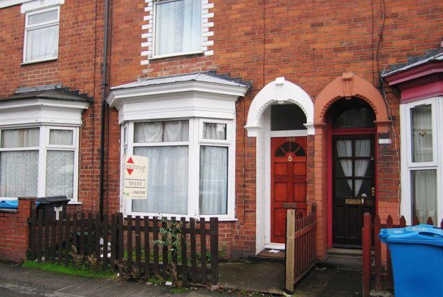 Thumbnail Terraced house to rent in Blenheim Street, Hull