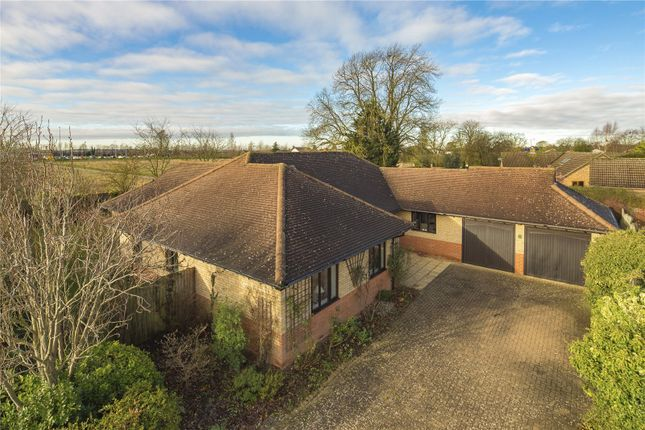 Thumbnail Detached bungalow for sale in Cherry Trees, Great Shelford, Cambridge