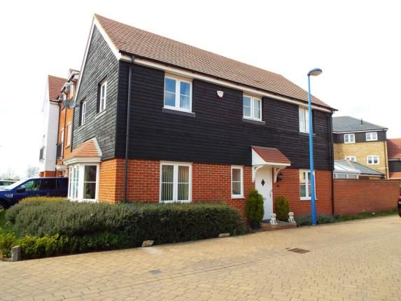 Thumbnail Link-detached house for sale in Bluewater Quay, Wixams, Bedford, Bedfordshire