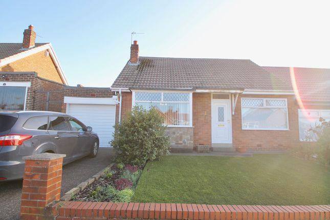 Thumbnail Semi-detached bungalow to rent in Birchfield Gardens, Low Fell, Gateshead, Tyne & Wear