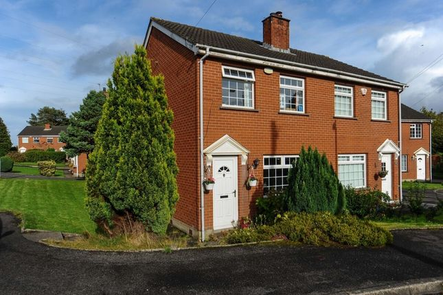 Thumbnail Semi-detached house for sale in Beaufort Park, Belfast