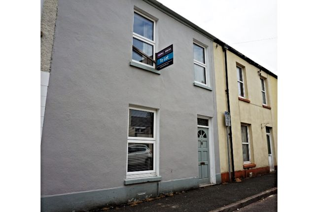 Thumbnail Terraced house to rent in Barnsfield Terrace, Carmarthen
