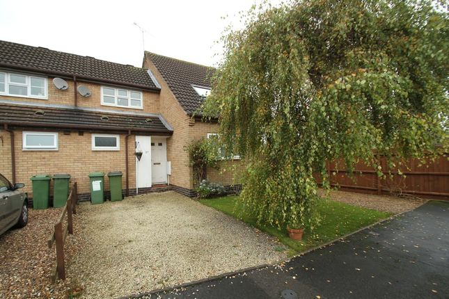 Thumbnail Terraced house to rent in Primrose Way, Kirby Muxloe, Leicester