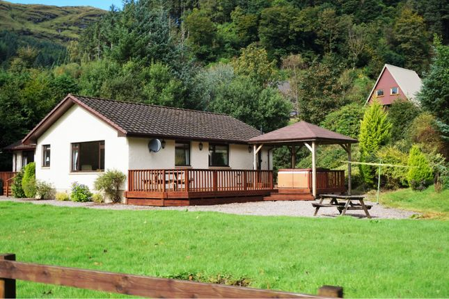 Thumbnail Detached bungalow for sale in 1 Drimsynie Drive, Lochgoilhead