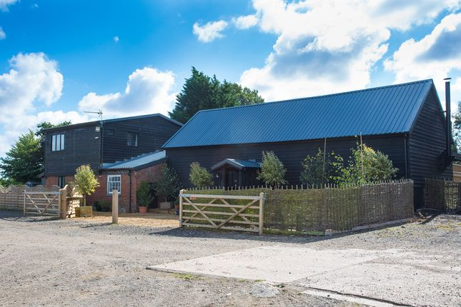Thumbnail Barn conversion for sale in Debenham Road, Stonham Aspal, Stowmarket