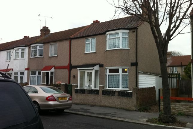 Thumbnail End terrace house to rent in Heath Road, Chadwell Heath