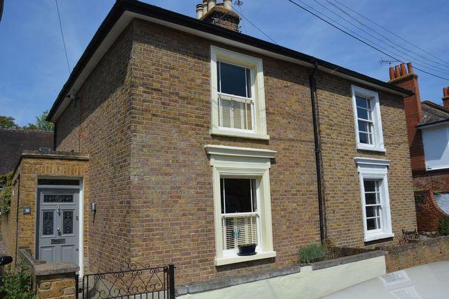 Thumbnail Semi-detached house for sale in St. Johns Road, Hampton Wick, Kingston Upon Thames