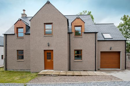 Thumbnail Detached house for sale in The Courtyard, Archiestown