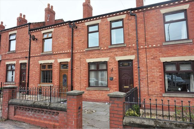 Thumbnail Terraced house to rent in Warrington Road, Wigan