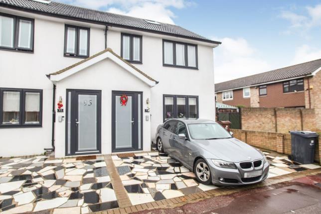 Thumbnail End terrace house for sale in Church Elm Lane, Dagenham