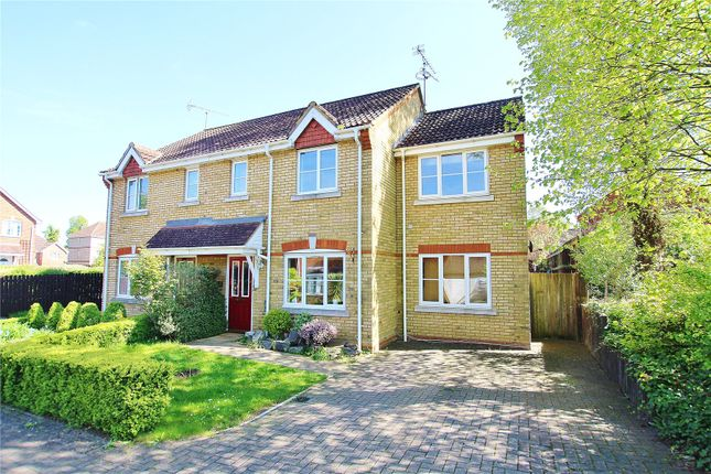 Thumbnail Semi-detached house for sale in Knaphill, Woking, Surrey