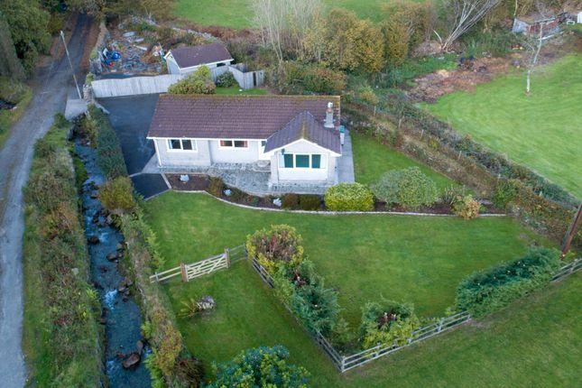 Thumbnail Detached bungalow for sale in Crow's Nest, Liskeard