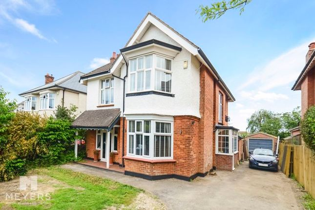 Thumbnail Detached house for sale in Stokewood Road, Bournemouth