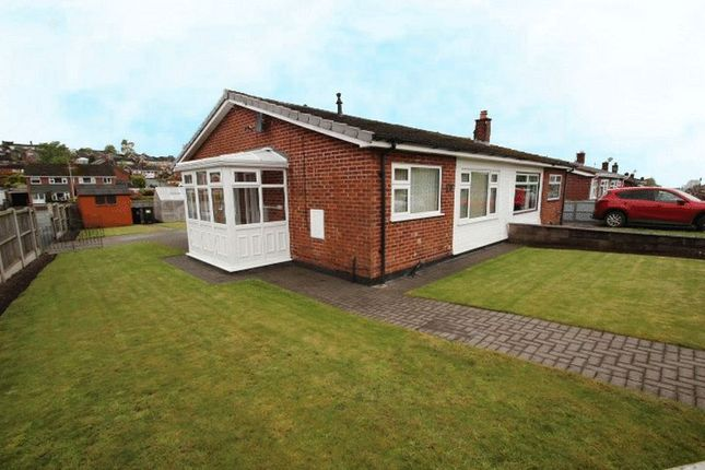 Thumbnail Semi-detached bungalow to rent in St. Andrews Drive, Kidsgrove, Stoke-On-Trent