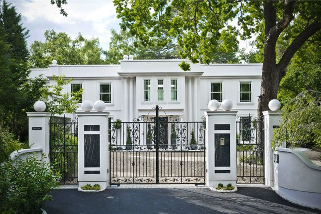 Thumbnail Detached house for sale in Camp End Road, St George's Hill, Weybridge, Surrey