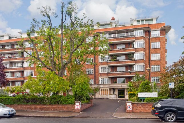 Thumbnail Flat for sale in St. James Close, London