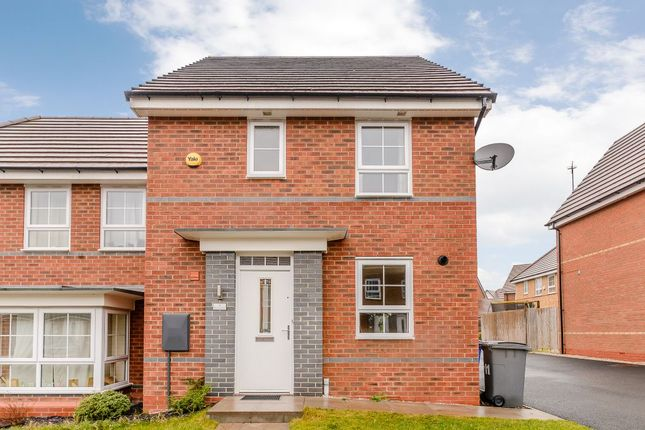 Thumbnail Semi-detached house for sale in Havilland Place, Stoke-On-Trent