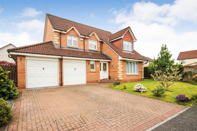 Thumbnail Detached house for sale in Inch Colm Avenue, Larbert