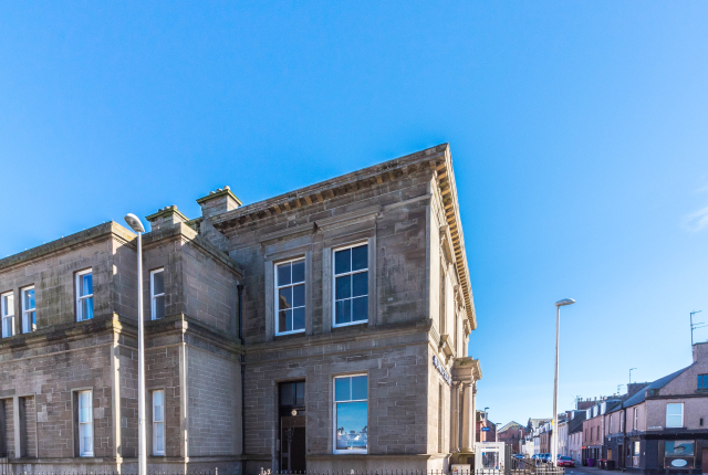 Thumbnail Flat to rent in The Bank Building, Gravesend, Arbroath