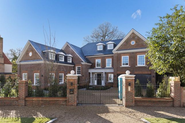 Thumbnail Detached house to rent in Sandown Road, Esher