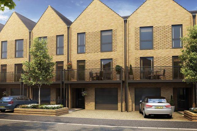 "Thumbnail Terraced house for sale in ""Melton"" at Hackbridge Road, Wallington"