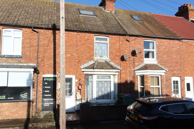 2 bed terraced house for sale in Kent Road, Cheriton, Folkestone, Kent CT19