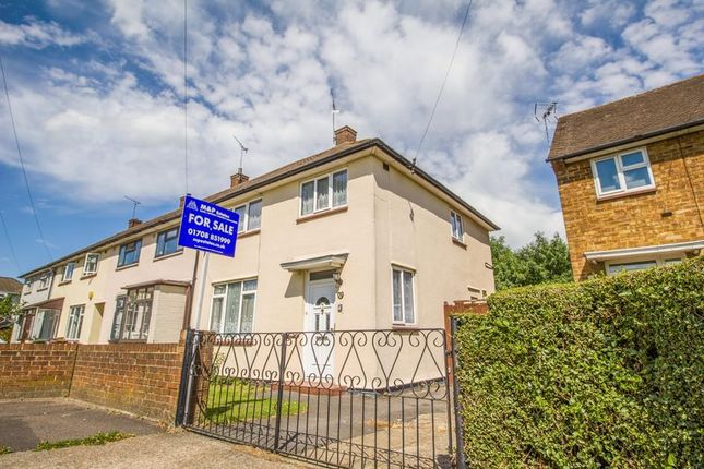 3 bed end terrace house for sale in Barle Gardens, South Ockendon, Essex