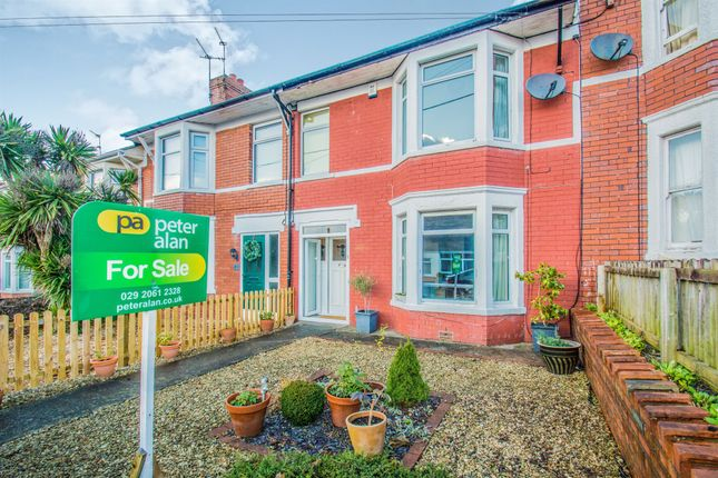 Thumbnail Terraced house for sale in Cottrell Road, Whitchurch, Cardiff