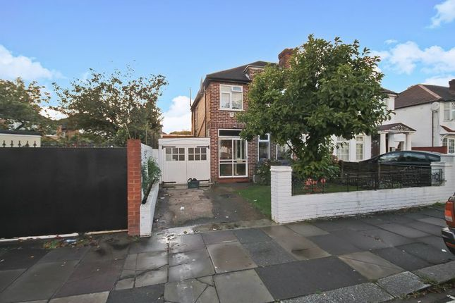 Thumbnail 3 bed semi-detached house for sale in Cayton Road, Greenford