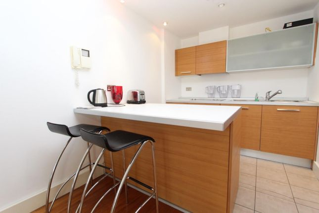 Thumbnail Flat to rent in South Wharf Road, London