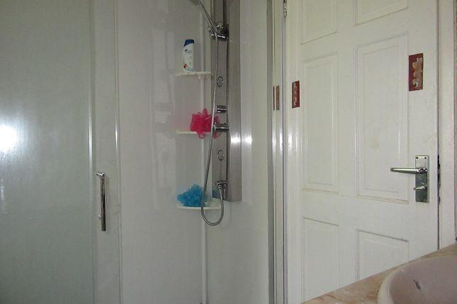 Shower of Montcliffe Crescent, Whalley Range, Manchester. M16