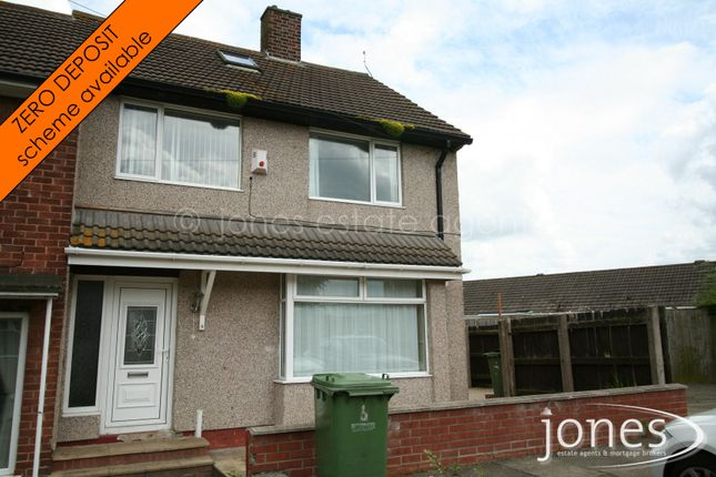 Thumbnail Semi-detached house to rent in Chopwell Close, Stockton On Tees