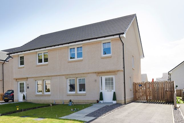 Thumbnail 3 bed semi-detached house for sale in Sgriodan Crescent, North Kessock