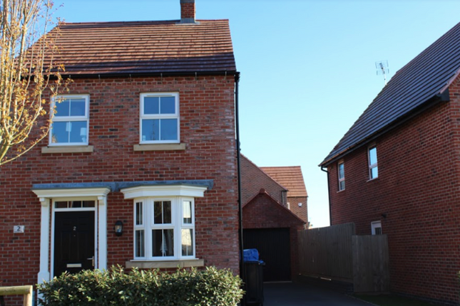 Thumbnail Detached house for sale in Plantain Way, Rugby
