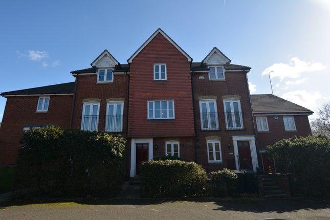 Thumbnail End terrace house to rent in Guernsey Way, Kennington, Ashford, Kent