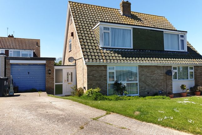Thumbnail Semi-detached house to rent in Kingfisher Close, Whitstable
