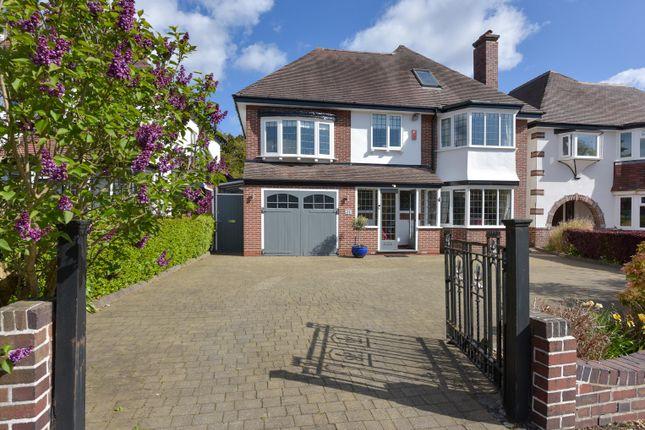 Thumbnail Detached house for sale in Oakham Road, Harborne, Birmingham, West Midlands